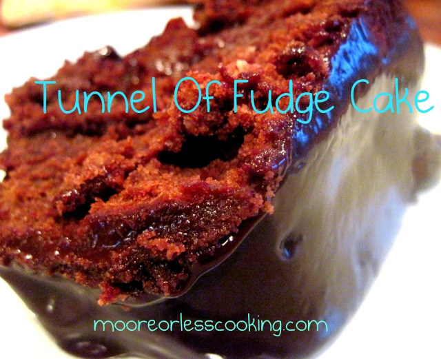 Tunnel Of Fudge Cake