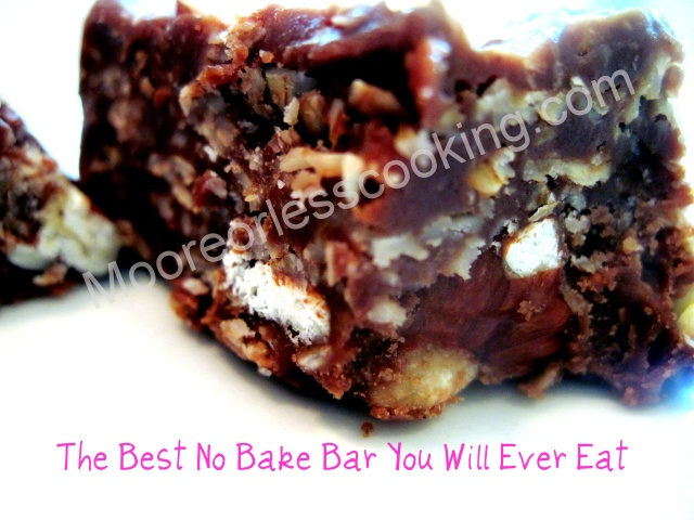 The Best No Bake Bar You Will Ever Eat