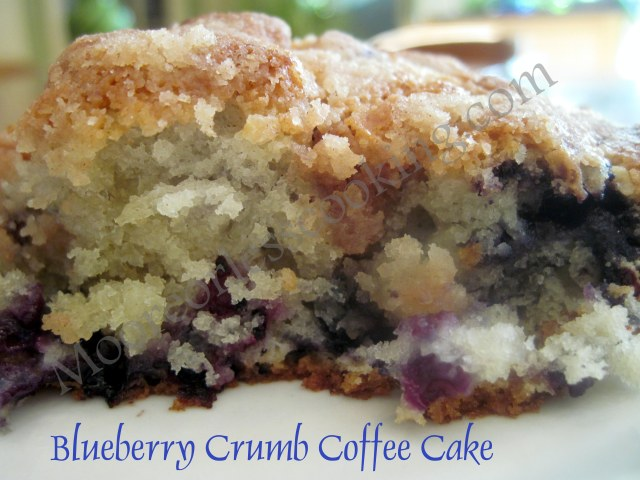Blueberry Crumb Coffee Cake | Moore or Less Cooking Food Blog