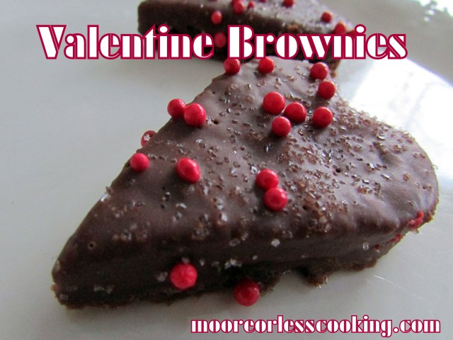Valentine Brownies